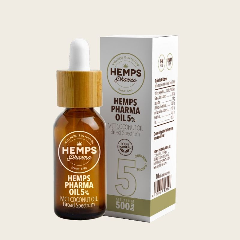 ACEITE CBD HEMPS PHARMA OIL 5% 10ml.